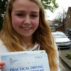 Photo of Emilie passed with MDS, Oxford
